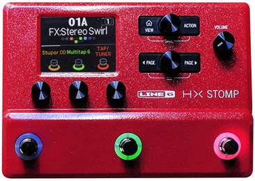 Line 6 HX Stomp Red Limited Edition