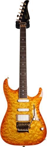 Pensa Guitars MK-1 Classic Plus Teaburst Knopfler Spec #0813