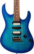 Suhr guitarguitar select #167 Modern Bahama Blue Burst