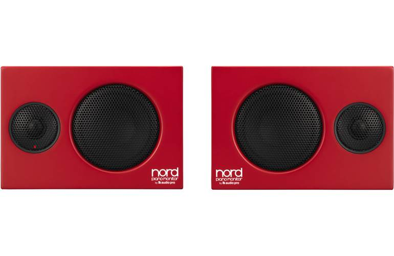 Nord Piano Monitors V2 (with Brackets)