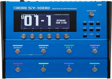 BOSS SY-1000 Guitar Synthesiser