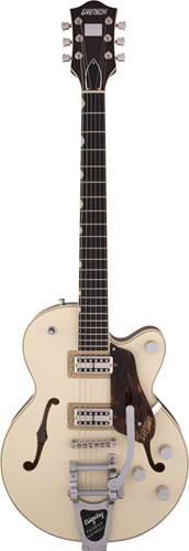 Gretsch G6659T Broadkaster Junior 2 Tone Lotus Ivory/Walnut Stain