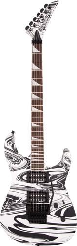 Jackson X Series SLXDX Soloist Satin White Swirl