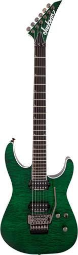 Jackson Pro Series SL2Q Soloist Green Glow