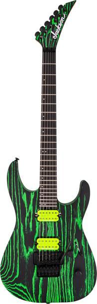 Jackson Pro Series DK2 Dinky Green Glow