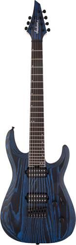 Jackson Pro Series Dinky Modern Ash HT7 Baked Blue