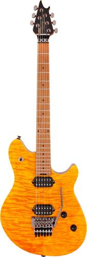 EVH Wolfgang Standard Quilt Trans Amber Roasted MN