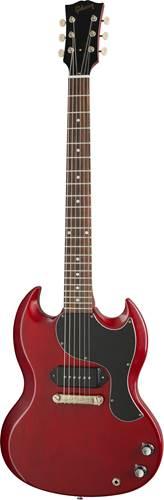 Gibson Custom Shop 1963 SG Junior Reissue Lightning Bar VOS Cherry Red