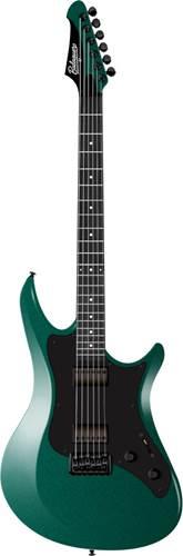 Balaguer Standard Series Archetype Gloss Jade Green Metallic Satin Black Pickguard EB