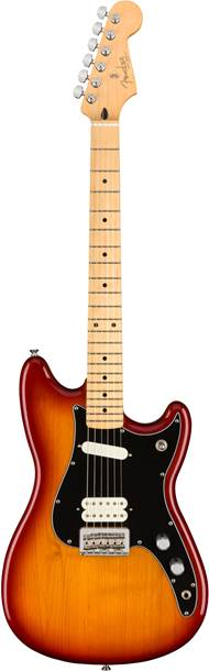 Fender Player Duo Sonic HS Sienna Sunburst Maple Fingerboard