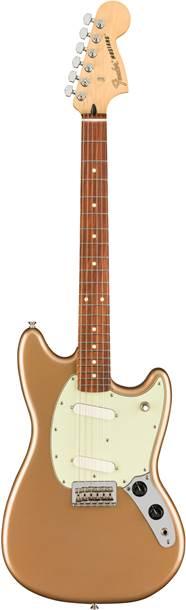 Fender Player Mustang Firemist Gold Pau Ferro Fingerboard