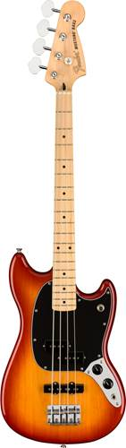 Fender Offset Mustang Short Scale Bass PJ Sienna Sunburst Maple Fingerboard