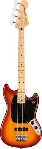 Fender Offset Mustang Short Scale Bass PJ Sienna Sunburst Maple Fingerboard