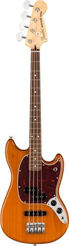 Fender Player Mustang Short Scale Bass PJ Aged Natural Pau Ferro Fingerboard
