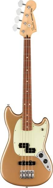 Fender Player Mustang Short Scale Bass PJ Firemist Gold Pau Ferro Fingerboard