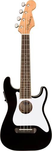 Fender Fullerton Ukulele Stratocaster Black