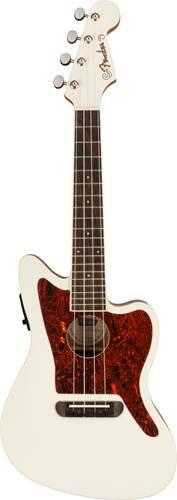 Fender Fullerton Ukulele Jazzmaster Olympic White