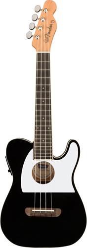 Fender Fullerton Ukulele Telecaster Black