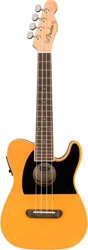 Fender Fullerton Ukulele Tele Butterscotch Blonde