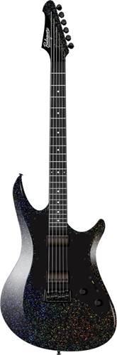 Balaguer Standard Series Archetype Gloss Cosmic Sparkle Satin Black Pickguard EB