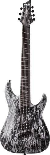 Schecter C-7 MS Silver Moutain