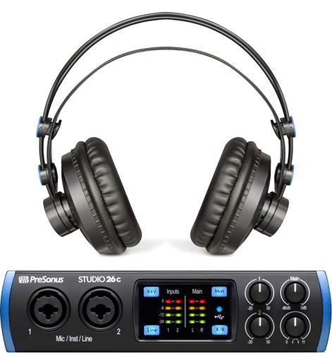 Presonus Studio 26C With Free HD7 Headphones