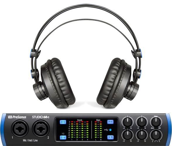 Presonus Studio 68C With Free HD7 Headphones