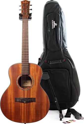 EastCoast M1SM Satin Natural Acoustic Guitar Pack