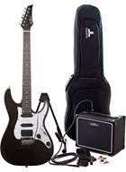 EastCoast GDT230 Grey Quilt Electric Guitar Pack