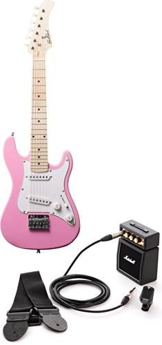 EastCoast GK20 Pink Mini Electric Guitar Pack