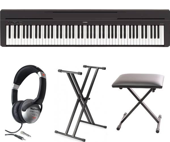 Yamaha P-45 Black Digital Piano Pack