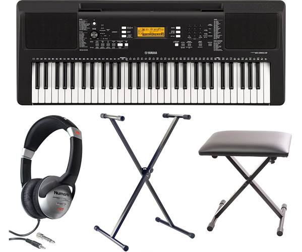 Yamaha PSR-E363 Keyboard Pack