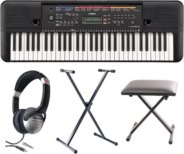 Yamaha PSR-E263 Keyboard Pack