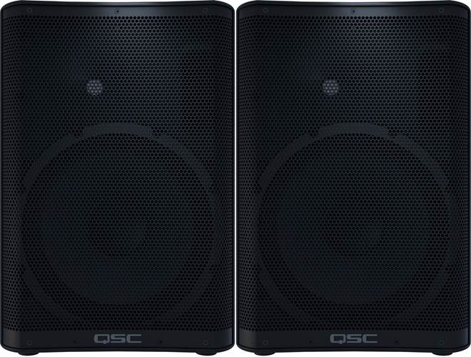 QSC CP12 Compact Powered Speaker (Pair)