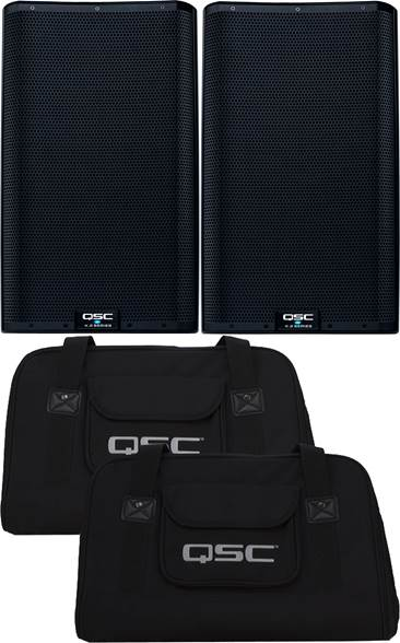QSC K12.2 Pair with Covers