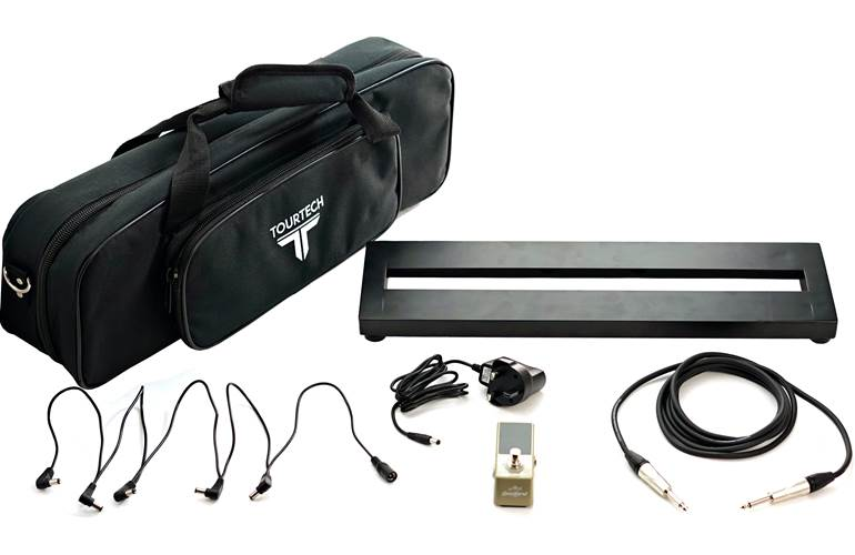 TOURTECH 5S-B Pedalboard and Tuner Starter Pack