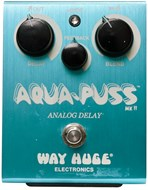 Way Huge WHE701 Aqua Puss Analogue Delay Pedal (Pre-Owned)