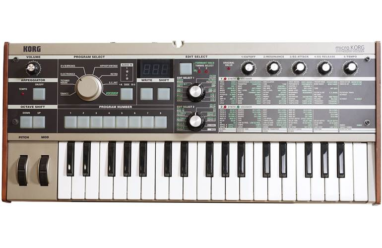 Korg MICROKORG Synthesizer/Vocoder (Pre-Owned)