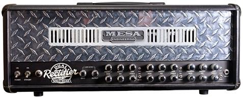 Mesa Boogie Dual Rectifier Solo Head w/ Flight Case (Pre-Owned)