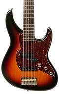 Fret King Perception 5 String Bass 3 Tone Sunburst RW (Pre-Owned)