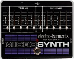 Electro Harmonix Micro Synthesizer Analog Guitar Microsynth (Pre-Owned)