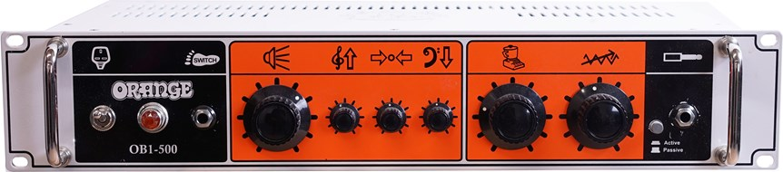 Orange OB-1 500 Bass Head (Pre-Owned)