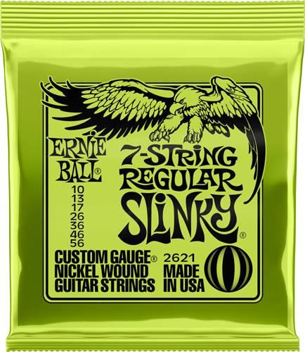 Ernie Ball 2621 7-String Regular 10-56