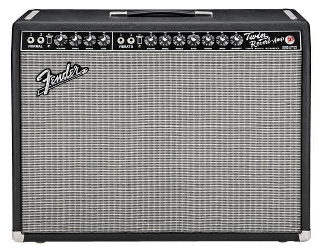 Fender 65 Twin Reverb 2x12 Combo Valve Amp