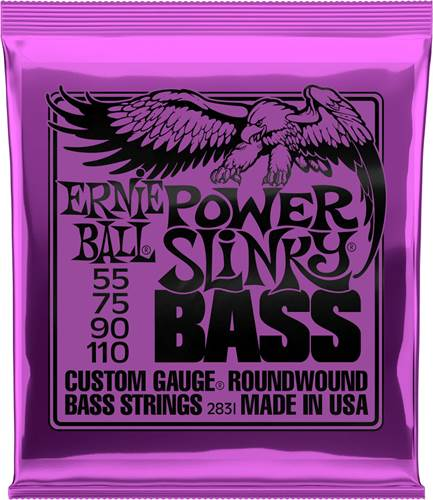 Ernie Ball 2831 Power Slinky Bass Nickel Wound 55-110