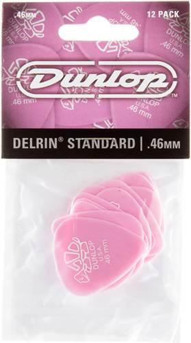 Dunlop 41P.46 Delrin 500 Standard 12/Play Pack Picks