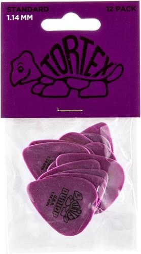Dunlop 418P 1.14 Tortex Purple Standard 12/Play Pack