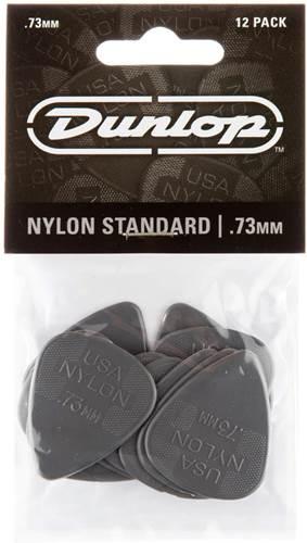 Dunlop 44P.73 Nylon Standard 12/Play Pack Picks