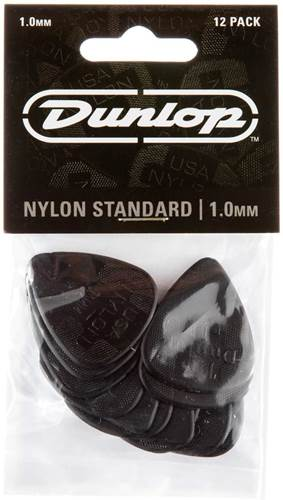 Dunlop 44P1.0 Nylon Standard 12/Play Pack Picks