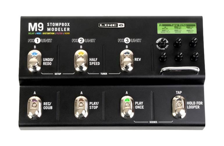 Line 6 M9 Stompbox Modeller